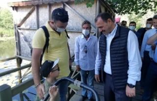 Vali Çetin Oktay Kaldırım Karasu İlçemizde Temaslarda...