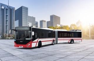 ESHOT'un 52 yeni otobüsü teslimatla göreve...