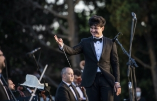 48. İstanbul Müzik Festivali'nin açılış konseri...