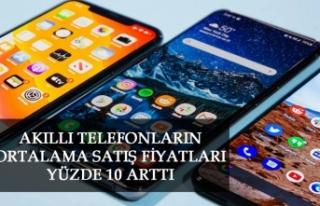 Akıllı Telefonların Ortalama Satış Fi̇yatları...