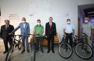 Bisiklet ödülleri sahiplerini buldu