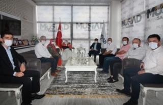 Durmuş'tan MÜSİAD Başkanı Filizfidanoğlu'na...