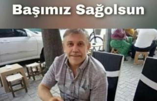 Fazilet Durmuş'tan Şaban Öğretmen için Başsağlığı...