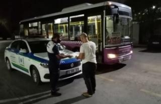 Kurallara uymayan otobüsün çalışma izni iptal...
