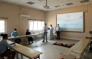 SASKİ çalışanlarına ilk yardım eğitimi
