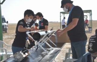 Teknofest 2020 Roket Yarışları Tuz Gölü'nde...