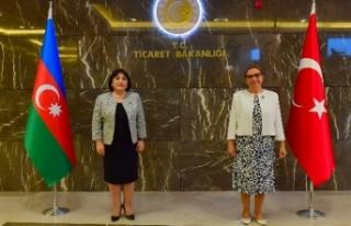 Ticaret Bakanı Pekcan, Azerbaycan Meclis Başkanı...