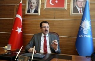 AK Parti Genel Başkan Yardımcısı Yavuz'dan...