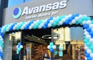 Avansas ilk 2 mağazasını İstanbul'da hizmete...
