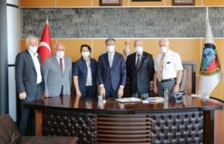 Başkan Alemdar SASTOP Üyelerini Ağırladı
