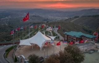 Hendek'ten Azerbaycan'a Kalpten Destek