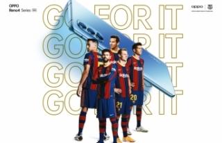OPPO ve FC Barcelona, Piqué, Roberto, De Jong, Pjanic...
