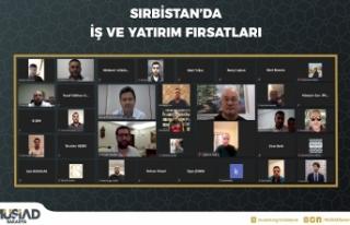Sırbistan'da Covıd-19 Sonrası Ticaretten Konuşuldu