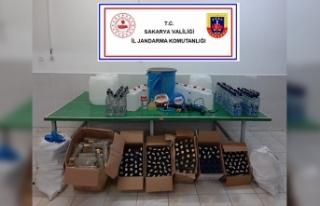 Jandarmadan Sahte İçki Operasyonu…