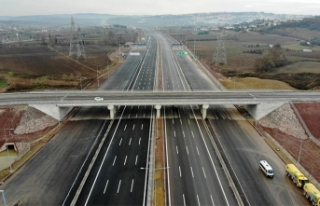 Kuzey Marmara Otoyolu ülkemizin gurur projesidir