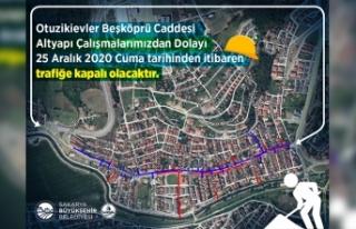 Serdivan'da güçlü altyapı için çalışmalar...