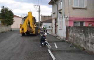 Sapanca Belediyesi Çalışıyor