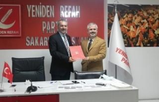Yeniden Refah'ta İl Teşkilat Başkanı Biran...
