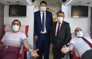 Başkan Kılıç'tan Kan bağış kampanyasına...