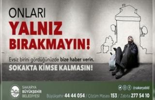 Büyükşehir'den Sokakta Kimse Kalmasın çağrısı