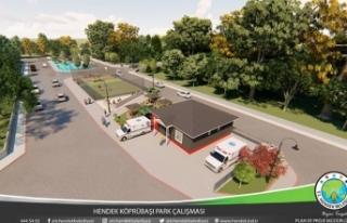 Hendek Belediyesinden 112 Acil istasyonu