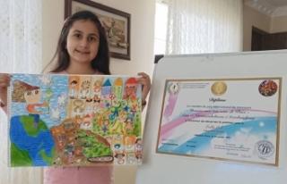 UNESCO Resim Yarışması'nda Türkiye Birincisi...