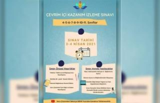 3-4 Nisan'da Kazanım İzleme Sınavı Yapılacak