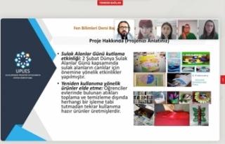Aykut Yiğit'in Proje Bildirisi UPUES 2021'e kabul...
