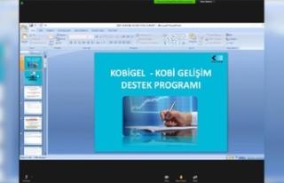 KOBİ-GEL Destek Programı SATSO Üyelerine Anlatıldı