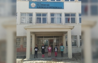 Pandemide eğitimleri yarım kalan 140 çocuğa destek