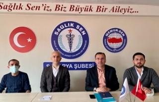 Serbes: Sağlık çalışanlarımız eşitlik ve adalet...