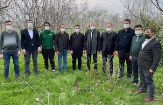 Üreticilerimizle birlikte Sakarya'yı tarımda...