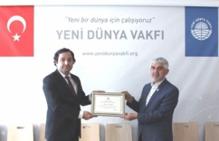 Başarılı İşadamı Şahin Karaaslan; YDV Başkanı...