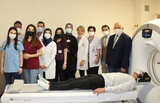 Karasu'da tomografi ünitesi hizmete girdi