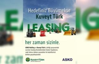 Kuveyt Türk ve Asko Grubu arasında katkı paylı...