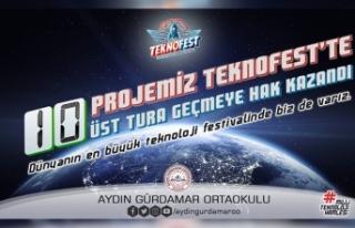 Aydın Gürdamar Ortaokulundan TEKNOFEST'te Büyük...