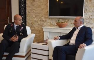Başkan Fevzi Kılıç Jandarma Teşkilatının 182....