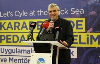 Bu proje bisiklet alanında Sakarya'nın ismini...