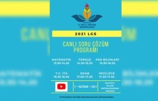 LGS soruları canlı yayında çözülecek