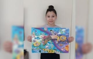 Sakarya Bilsem'den Resim Yarışmasında Türkiye...