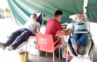Serdivanlı Muhtarlardan Kan Bağışına Destek