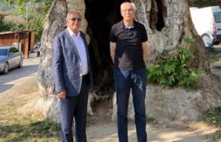Baklan Belediye Başkanı'ın dan Özkaraman'a...