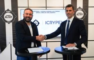 Büyük Altay ile ICRYPEX arasında sponsorluk anlaşması...
