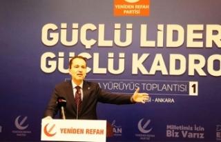 Fatih Erbakan: 'Bu iktidar gitsin de ne olursa...