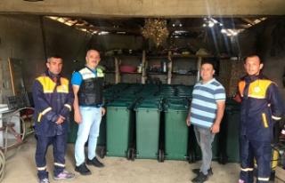 """""""Karasu'da Bireysel Çöp Kutusu Projesine İlgi..."""