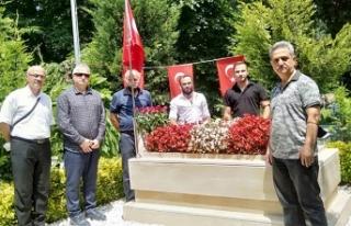 TYB Sakarya'dan 15 Temmuz Şehidi Serdar Gökbayrak'a...