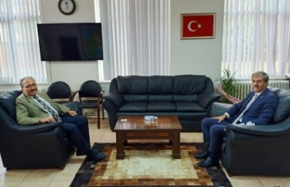 Başkan Alemdar'dan Ali Candan'a Hayırlı Olsun...