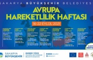 Sakarya'da Avrupa Hareketlilik Haftası bir dizi...