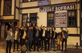 Taraklı ülkü ocakları Türk gençlik kurultayına...