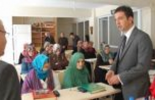Gürçam'dan Kur'an kursuna ziyaret